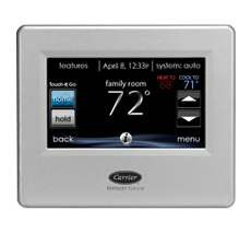 Carrier® Infinity® Remote Access Touch Control