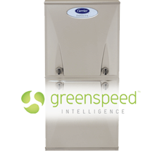 Carrier™ Infinity® Series Gas Furnace with Greenspeed™ Intelligence